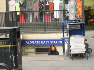 Aldgate East Tube Station, London
