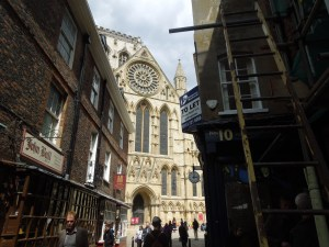 Self was last here (in the City of York) when she was 11.