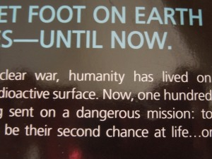 Back Cover Blurb for Kass Morgan's THE 100