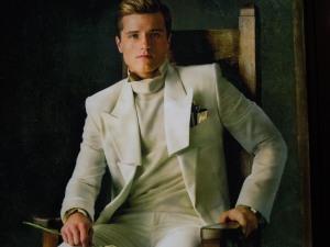 Josh Hutcherson as Peeta Mellark (Hi-jacked Capitol Peeta Mode)