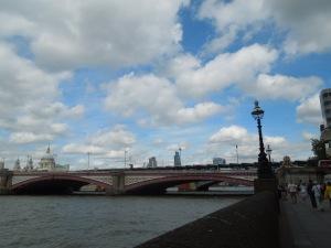 Blackfriars Bridge, London: July 2015