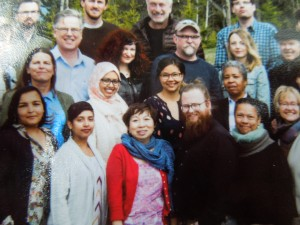 2015 Banff Writing Studio Official Portrait: a picture of a picture, BLURRED!