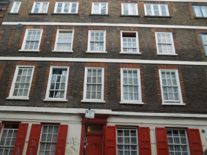 Somwhere Off Whitechapel Road, London