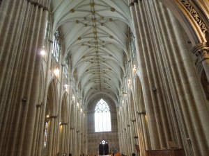 Such a beautiful cathedral! Self thought it was much more beautiful than Westminster Abbey.