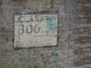 This artist is ready for her close-up: Is her name CLARA BOG? Or is that the name of the town?