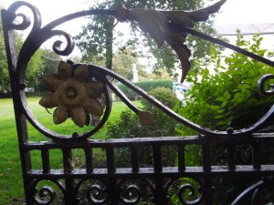 The Gate Leading to the Garden Behind the Oblates' Church in Inchicore, Dublin