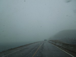 The Trans-Canada Highway, April 2015 (Can you imagine weather like this in April, self can't even)