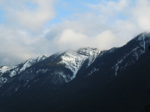 Clouds + Canadian Rockies = Weather Situations