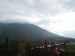 View From Lloyd Hall, Banff Arts Centre, May 2015