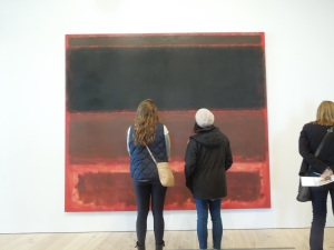 Every painting by Rothko is about boundaries.
