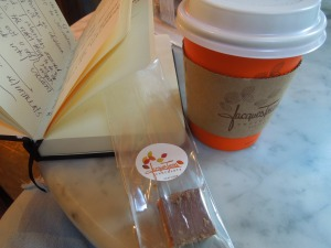 Hot Chocolate and Peanut Butter & Jelly Square, Joaquin Torres, Broadway & 72nd