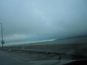 Heading West Across San Francisco Bay in Stormy Weather