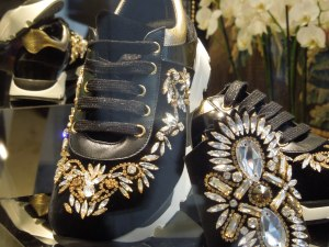 These extravagant SNEAKERS certainly make a statement!