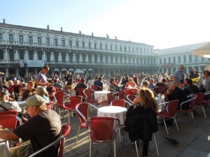 San Marco Square, Venice, Saturday Afternoon, November 2015