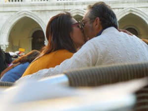 Saturday Afternoon: A Couple in San Marco Square