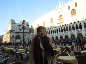 One Day in Venice: Self in Front of the Doge's Palace in San Marco Square