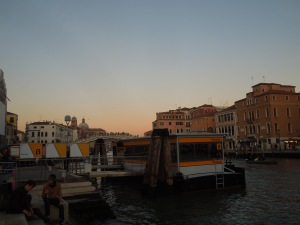 Ferrovia, Venice: All trains to Venice stop here. The last time self was in Venice was spring 2013, with Margarita Donnelly, her friend and mentor at Calyx Press. Margarita passed away December 2014.