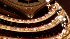 "Waiting for the beginning of Kenneth Macmillan's beautiful, stunning ballet, ""Mayerling"": Saturday, May 13"