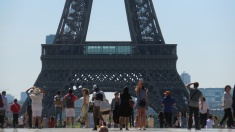 The Eiffel Tower: May 2017
