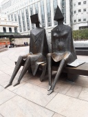 Two Handmaidens, London's Canary Wharf: November 2019